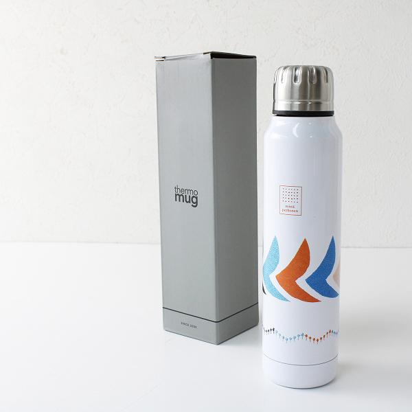 未使用品 mina perhonen ミナペルホネン thermo mug サーモマグ bird Umbrella Bottle タンブラー/ホワイト 【2400012352520】