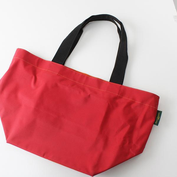 Herve Chapelier エルベシャプリエ 925N ナイロン 舟型 トートバッグ/レッド 鞄【2400012359178】