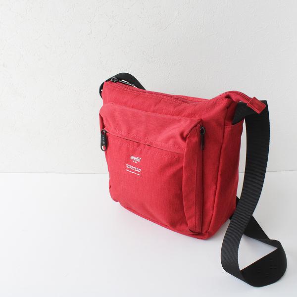 【期間限定60%OFF!】anello アネッロ ショルダーバッグ/レッド 小物 鞄【2400012362147】