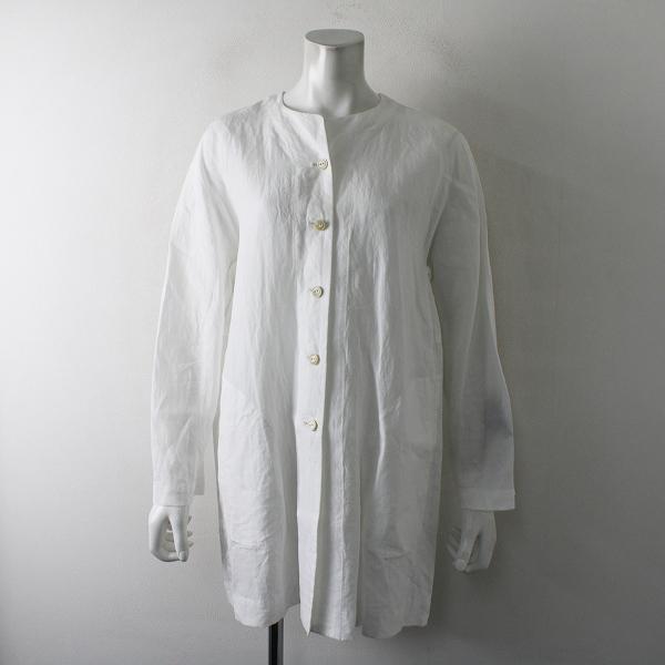 定価6.7万 2019SS ARTS&SCIENCE アーツ&サイエンス Back tuck shirt jacket 1/ホワイト シャツジャケット【2400012362970】