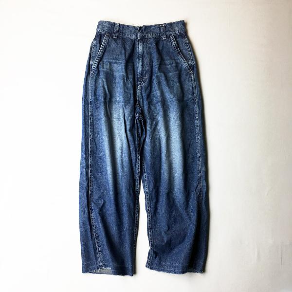 2021SS RH Vintage Ron Herman ロンハーマン ヴィンテージ Painter Pants デニムペインターパンツ S/インディゴ【2400012366763】