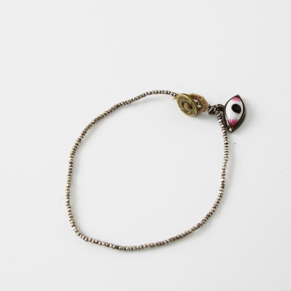 【期間限定20%OFF!】dosa ドーサ silver bead w/krishna's eye bracelet クリシュナズアイブレスレット ビーズ/シルバー アクセサリー【2400012368699】