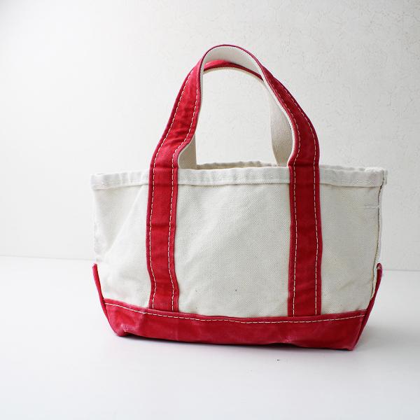 美品 L.L. Bean エルエルビーン X REMI RELIEF レミレリーフ X アパルトモン Canvas tote bag S/レッド キャンバス【2400012383043】