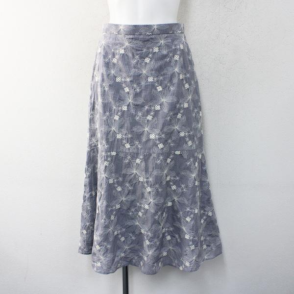 2020 SUMMER COLLECTION TOCCA トッカ 洗える BALLERINA TREE スカート 4/バレリーナツリー刺繍【2400012389038】