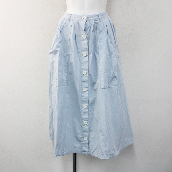 haupia ハウピア 曇っていても、青くても、白くてもスカート 38/サックスブルー ボトムス【2400012396821】