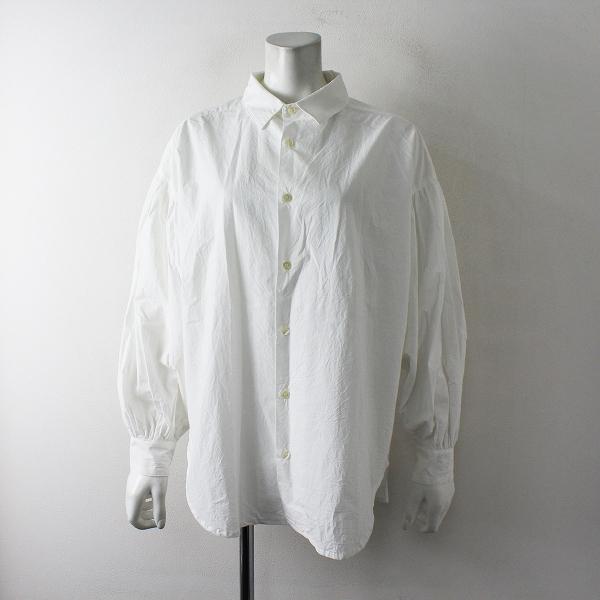 新品 未使用 ichi Antiquite's イチアンティークス TYPEWRITER AZUMADAKI タイプライター東炊きシャツ F/ホワイト白【2400012397712】