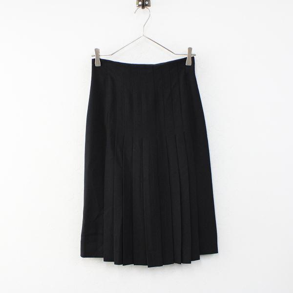 CHANEL シャネル タイトプリーツスカート 34/ブラック【2400012403192】