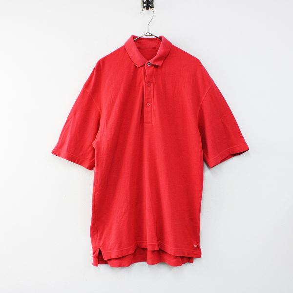 45R フォーティファイブアール HERITAGE ハチノス鹿の子半袖ポロシャツ 5/レッド メンズ 45rpm【2400012425453】