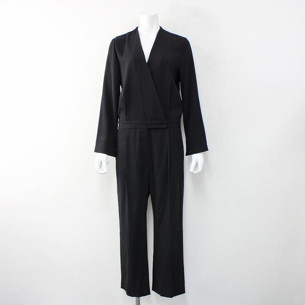 定価3.9万 2020AW AP STUDIO エーピーストゥディオ ジャンプスーツ 36/ブラック オールインワン【2400012446410】-.