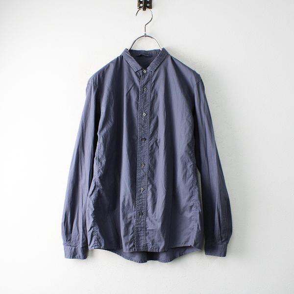 Veritecoeur ヴェリテクール コットン スモールカラーシャツ F/グレー トップス【2400012453203】