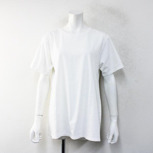 2020AW Deuxieme Classe ドゥーズィエムクラス CALUX キャラクス A LINE Tシャツ F/ホワイトシロ【2400012458390】-.