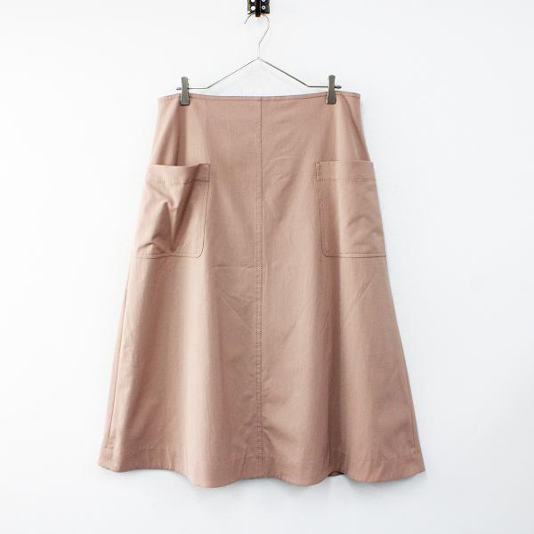 新品 未使用品 大きいサイズ オンワード icb アイシービー Composite Ox スカート 48/ピンクベージュ ボトムス【2400012459922】