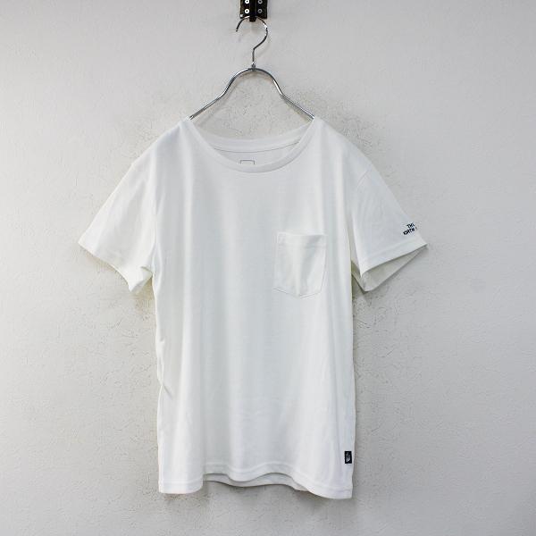THE NORTH FACE ザ ノースフェイス NTW31935 ショートスリーブポケットティー L/ホワイト Tシャツ【2400012461352】