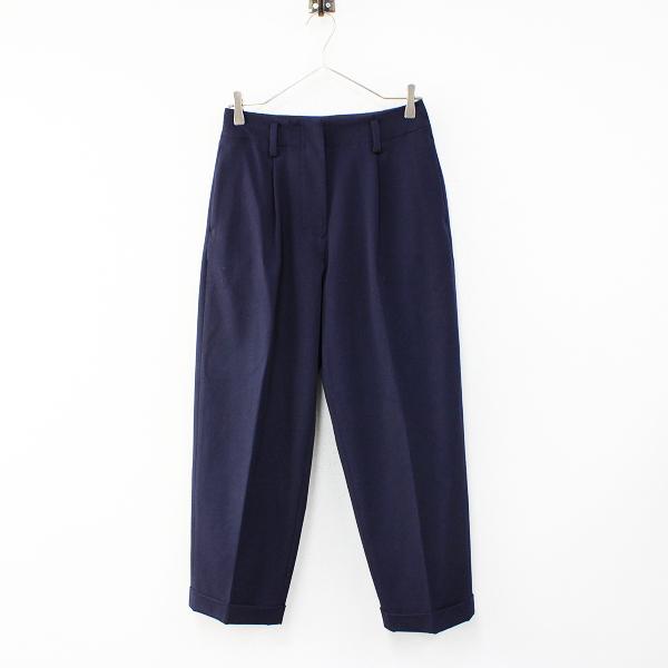 YAECA ヤエカ 2WAY PANTS TUCK TAPARED パンツ タックテーパード M/ネイビー【2400012461420】