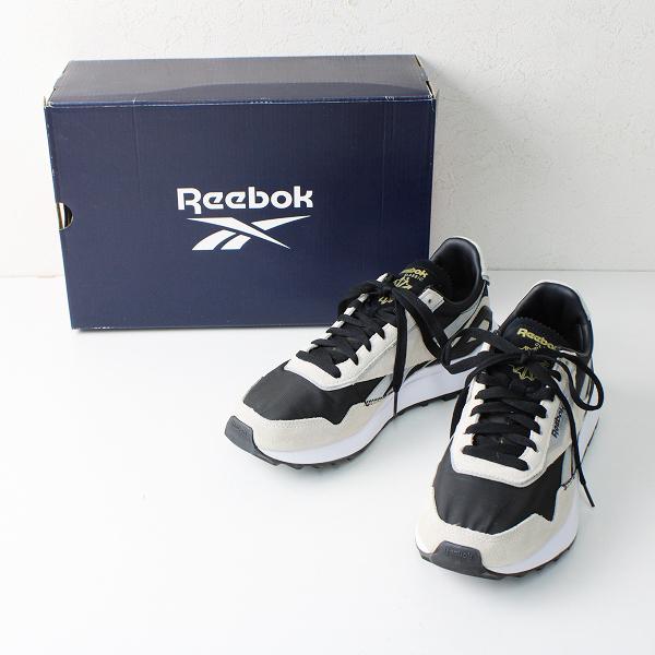 美品 Reebok リーボック GX7568 Classic Leather Legacy AZ クラシック レザー レガシー 25.0cm/コアブラック スタッコー【2400012461444】