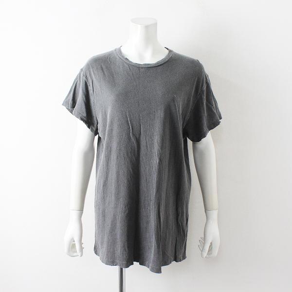 2020SS Deuxieme Classe ドゥーズィエムクラス MADE WORNメイドウォーン JOURNEY Tシャツ S/ブラック トップス【2400012466609】-.