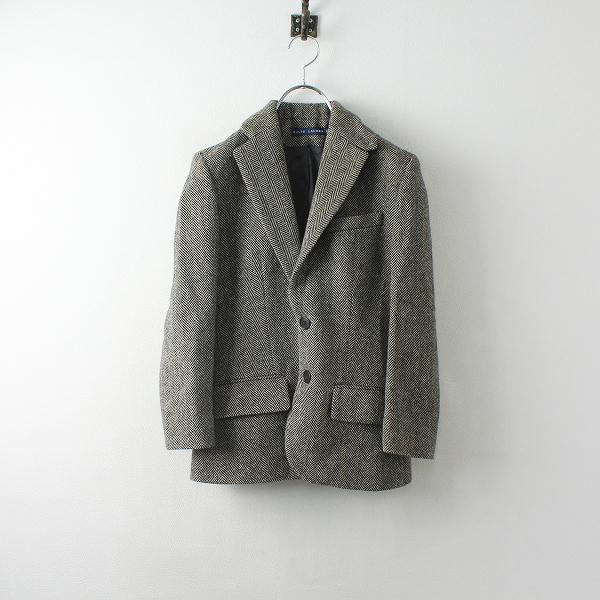 Ralph Lauren ラルフローレン ウール ヘリンボーンジャケット 2/ベージュ ブラック 羽織り ハオリ トップス【2400012480186】