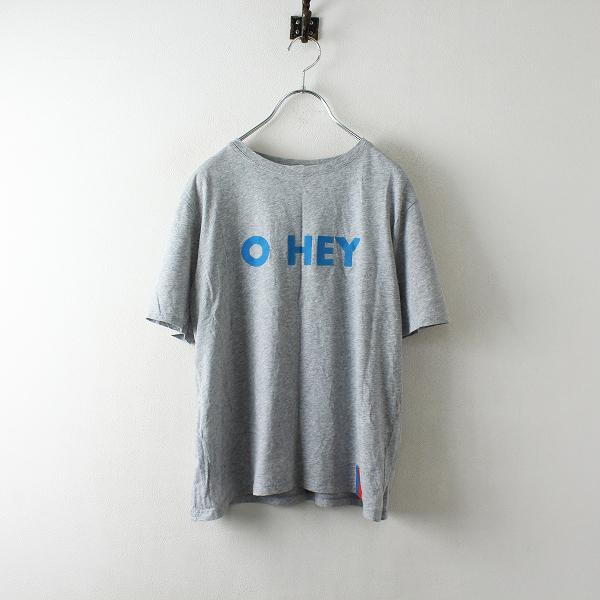2018 Deuxieme Classe ドゥーズィエムクラス KULE O HEY Tシャツ S/グレー トップス【2400012480223】