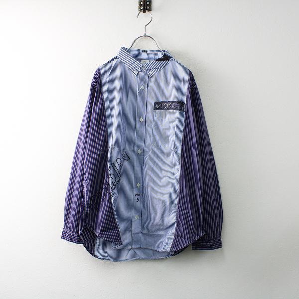 新品 THE PARK SHOP ザパークショップ TPS-219 WALLBOY SHIRTS ウォールボーイシャツ S/トップス ブラウス【2400012487840】