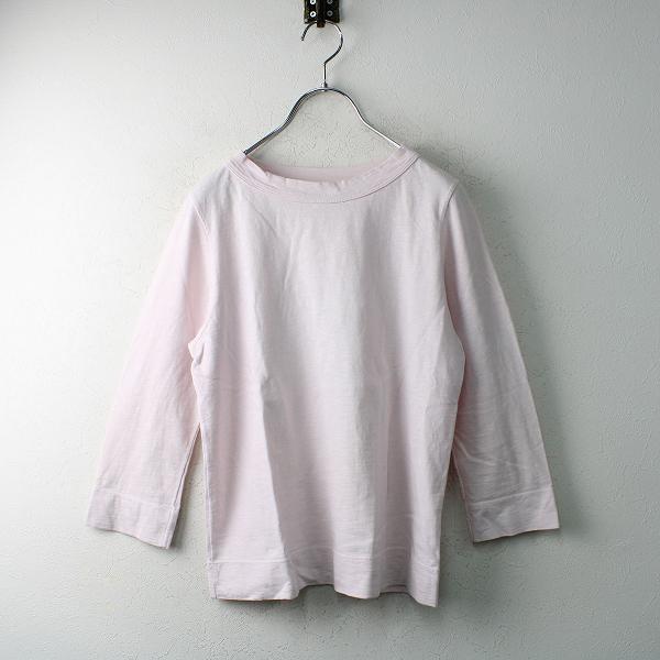 45R フォーティファイブアール 45星 四角Tシャツ 2/ピンク 七分袖 天竺 45rpm【2400012490819】