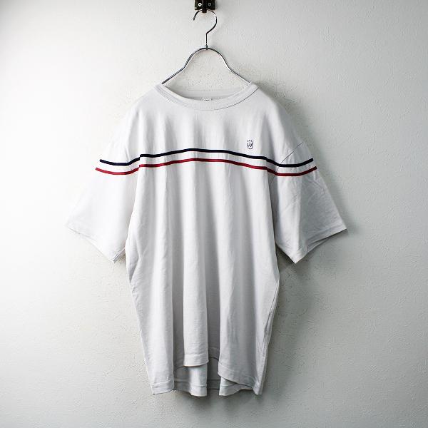美品 2020SS 45R フォーティファイブアール レーヨン天竺のOCEAN Tシャツ 2/ライトグレー 45rpm【2400012490826】