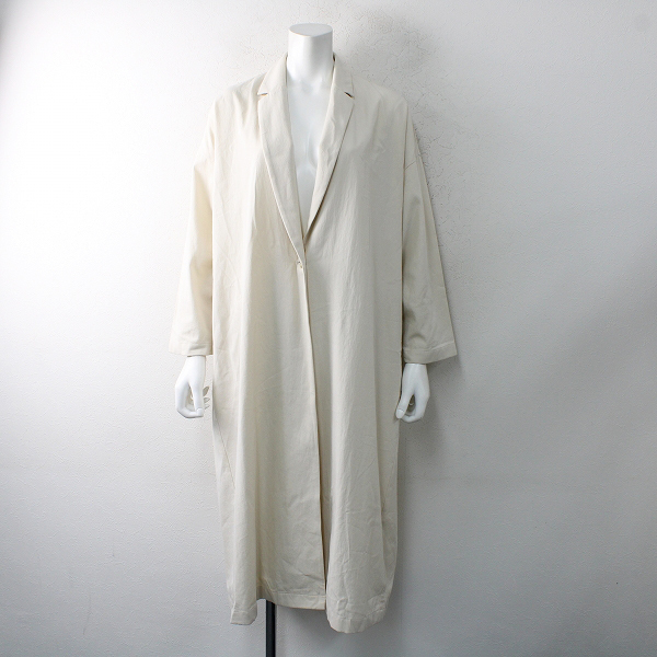 2021SS evam eva エヴァムエヴァ tailored jacket テーラードジャケット 2/エクリュ アウター【2400012495029】