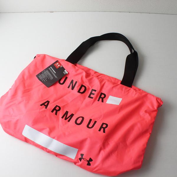 未使用 美品 UNDER ARMOUR アンダーアーマー フェイバリットグラフィックトートバッグ/ピンク【2400012500259】