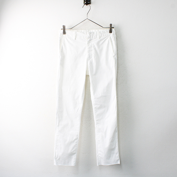 2021SS 定価3.1万 Deuxieme Classe ドゥーズィエムクラス tight パンツ 34/ ホワイト ボトムス【2400012501430】-.