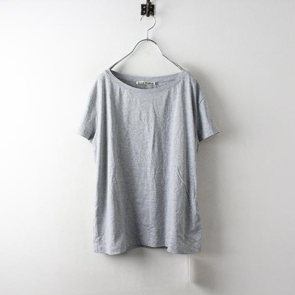 未使用 美品 2019SS L'Appartement アパルモン購入 ACNE STUDIOS アクネストゥディオズ ワイドシルエットTシャツS 【2400012502376】