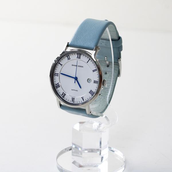 メンズ DANISH DESIGN ダニッシュ デザイン IQ18Q858 クォーツ式 腕時計/サックスブルー 【2400012503236】