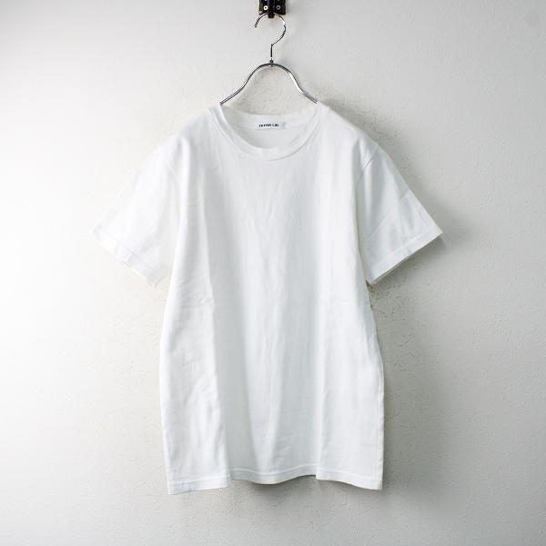 2019SS 定価1万 Deuxieme Classe ドゥーズィエムクラス 追加 EVERYDAY I LIKE. Tシャツ /ホワイト トップス【2400012505407】-.