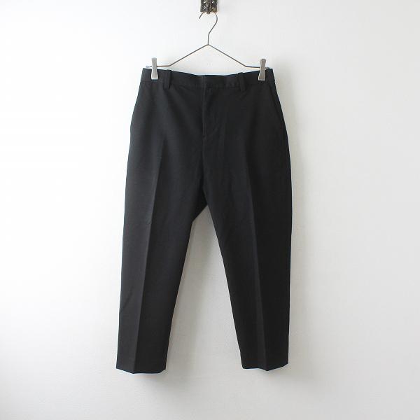YAECA ヤエカ 166053 2WAY PANTS TAPERED M/ブラック タックテーパードパンツ【2400012511910】