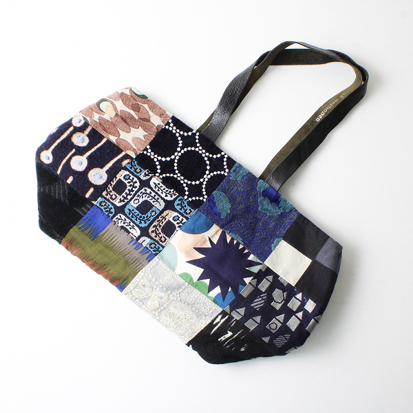 mina perhonen ミナペルホネン piece bag ピースバッグ /ダークミックス トートバッグ BAG【2400012522251】
