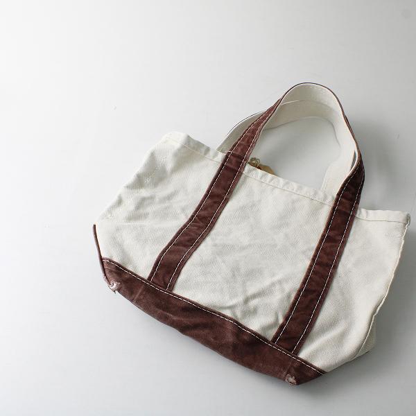 美品 2021SS 定価1.4万 L'Appartement Deuxieme Classe アパルトモン L.L.Bean Canvas Small Tote Bag /ブラウン【2400012525207】