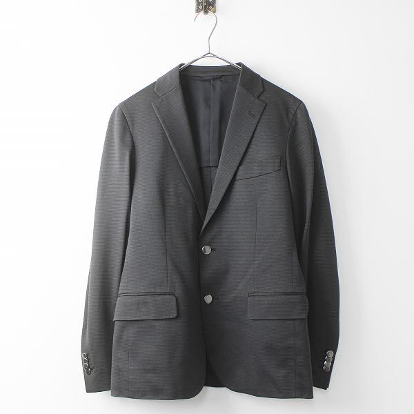 JOSEPH ジョゼフ 格子柄 テーラード ジャケット 46/メンズ アウター ブラック 上着 長袖【2400020070676】