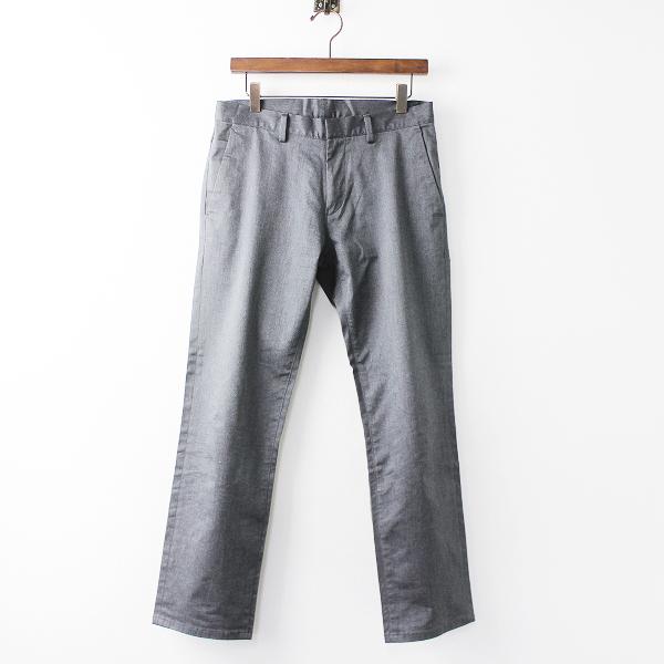Calvin Klein カルバンクライン トラウザー パンツ W76/メンズ グレー ボトムス【2400020070690】