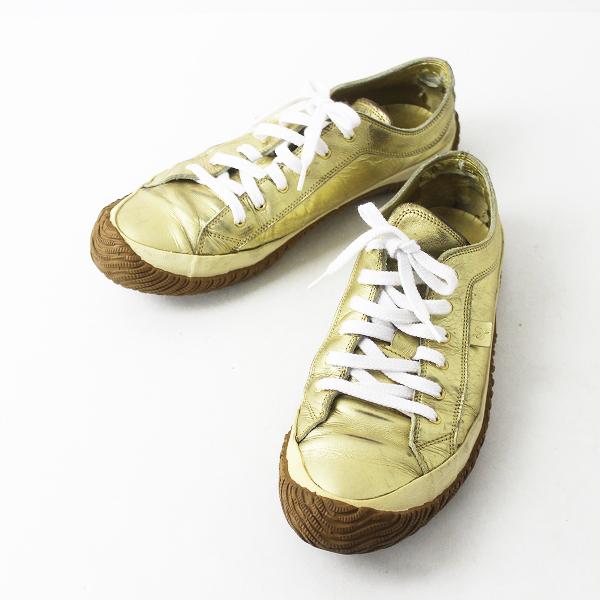 SPINGLE MOVE スピングルムーヴ レースアップ スニーカー M/ゴールド メンズ 靴 くつ シューズ【2400020072328】