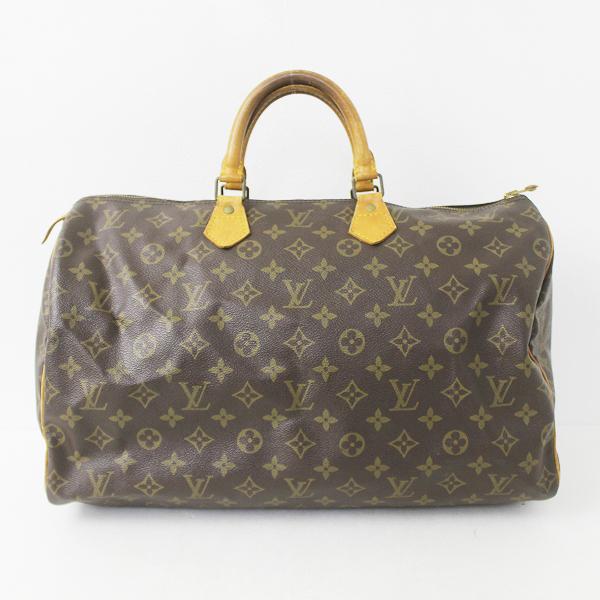 LOUIS VUITTON ルイヴィトン モノグラム スピーディ 40 ボストンバッグ M41522 /// ハンドバッグ 鞄 カバン【2400020072908】