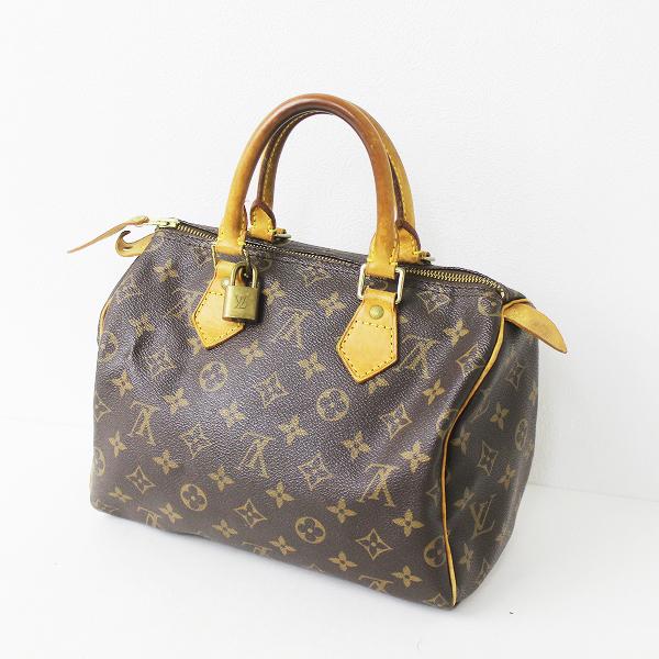 LOUIS VUITTON ルイヴィトン M41528 モノグラム スピーディ 25 ハンドバッグ TH0064/鞄 BAG かばん 小物【2400020073684】