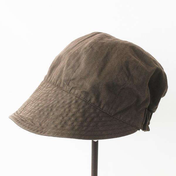 Paul Harnden ポールハーデン party pooper キャップ/パーティポッパー ブラウン 帽子 小物 アクセサリー コットン【2400020076760】