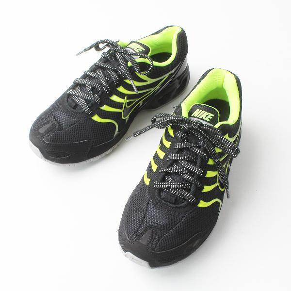 NIKE ナイキ AIR MAX 343846-011 TORCH4 スニーカー 26/ブラック×ネオングリーン メンズ 靴 くつ【2400020076937】