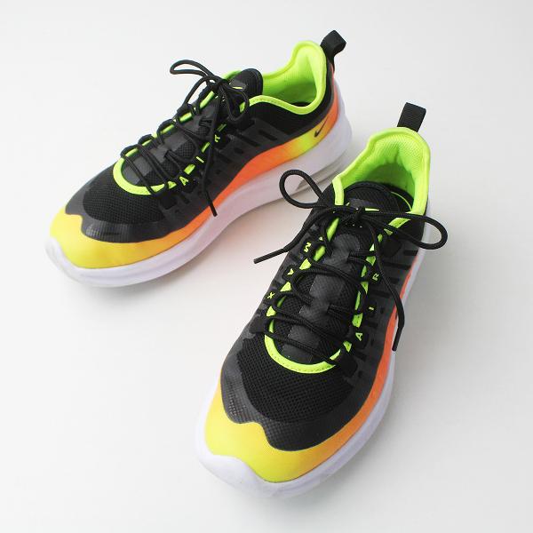 NIKE ナイキ AIR MAX AA2148-006 アクシス スニーカー 26/ブラック×オレンジ メンズ 靴 くつ エアマックス【2400020076951】