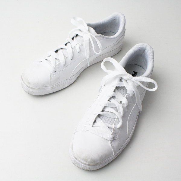 PUMA プーマ 36294603 コート ポイント スニーカー 26.5/ホワイト メンズ 靴 くつ【2400020077033】