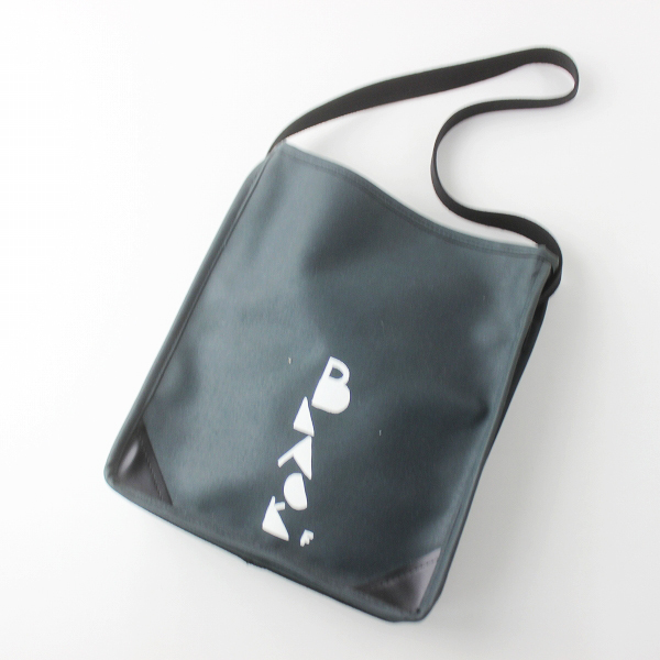 BLACK COMME des GARCONS ブラック コムデギャルソン ワンショルダー バッグ /ネイビー系 鞄 かばん【2400020079822】