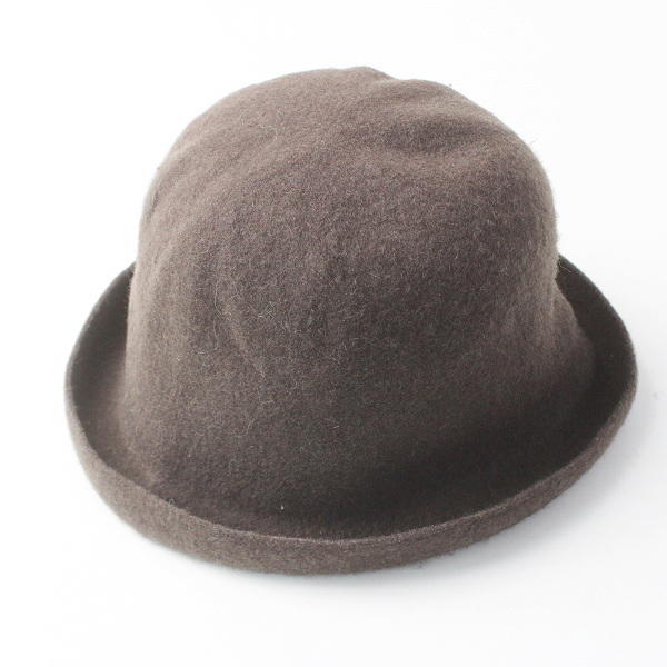 Odds オッズ フェルト ハット/チャコールブラウン 帽子 小物 ぼうし アクセサリー【2400020083409】