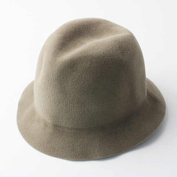 HAT attack ハットアタック ウール ハット/ベージュ 帽子 小物 アクセサリー【2400020083416】