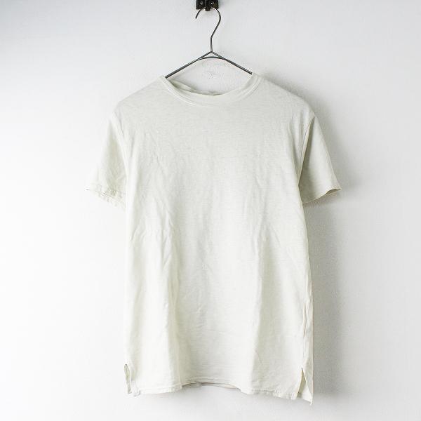KAPITAL キャピタル コットン リネン カットソー XS/オフホワイト トップス 半袖 Tシャツ【2400020084208】
