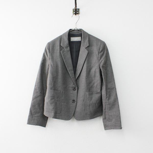 MARGARET HOWELL マーガレットハウエル ウール テーラードジャケット 1/グレー【2400020099851】